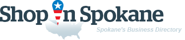 ShopInSpokane. Business directory of Spokane - logo
